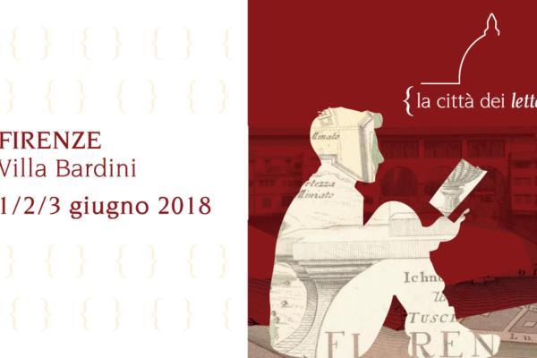 """Festival """"la città dei lettori"""" a Firenze"""