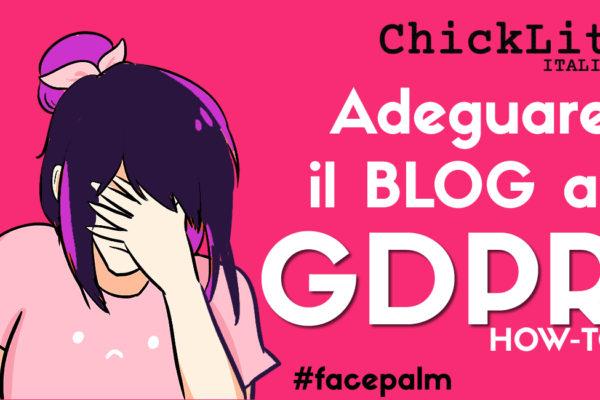 GDPR e blog: mai una gioia!