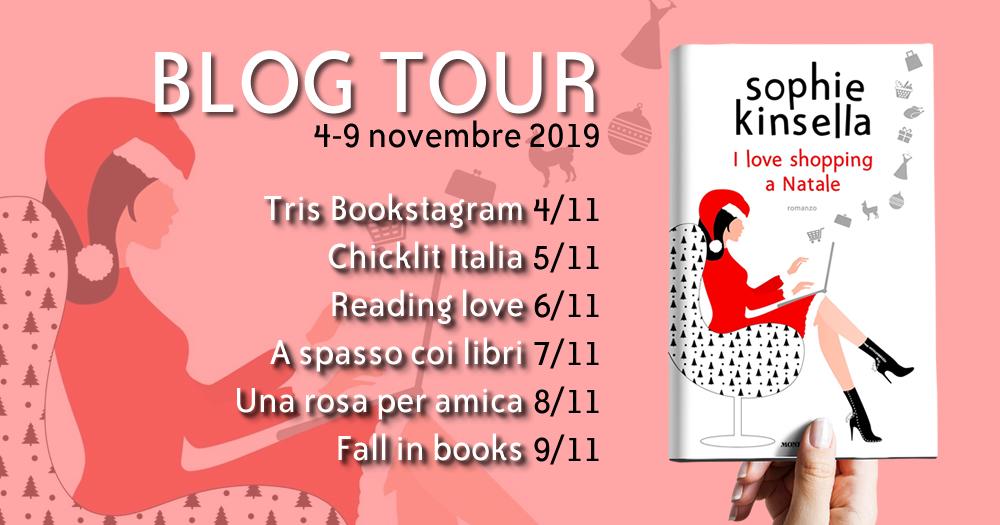 """Tutti i libri della serie """"I love shopping"""" di Sophie Kinsella – blog tour!"""